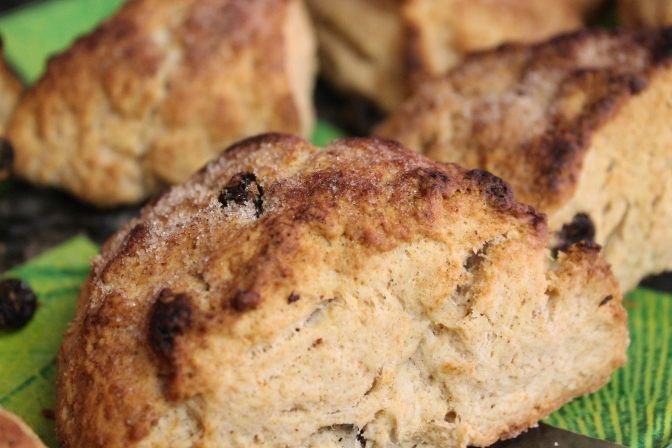 Scones … and  Hitting the Reset Button