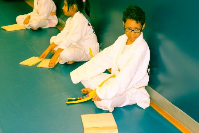 Justin's Tae Kwon Do Journey