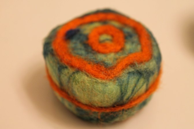 Maker Saturday: Felting Soaps