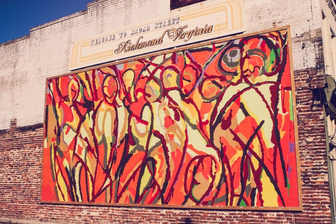 Creativity!  Stumbled onto the Richmond Murals