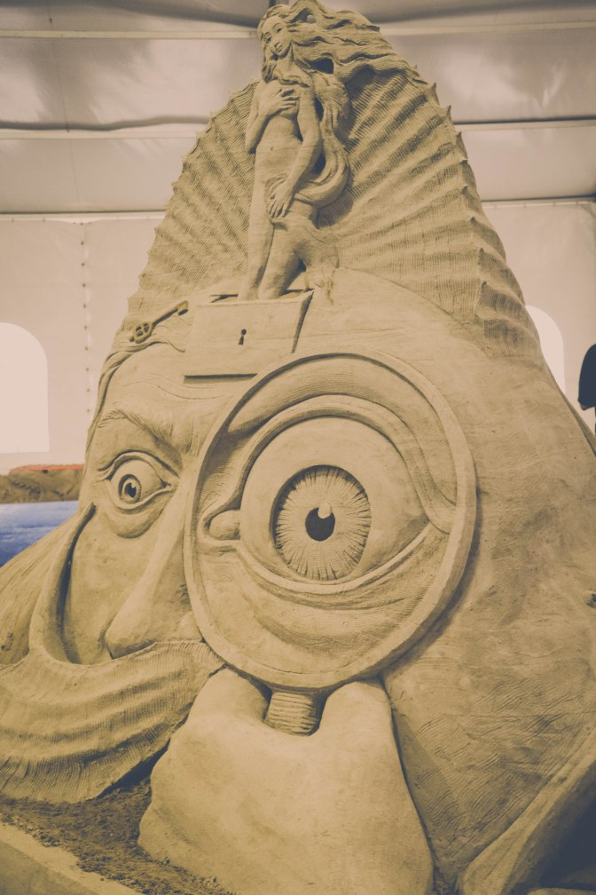 Gorgeous Sand Sculptures